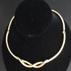 Brushed Gold Necklace by Lenox